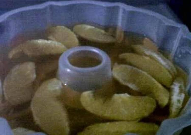 Resep Agar-agar Jeruk Mandarin
