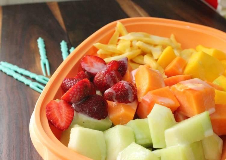 Resep Fruit Platter