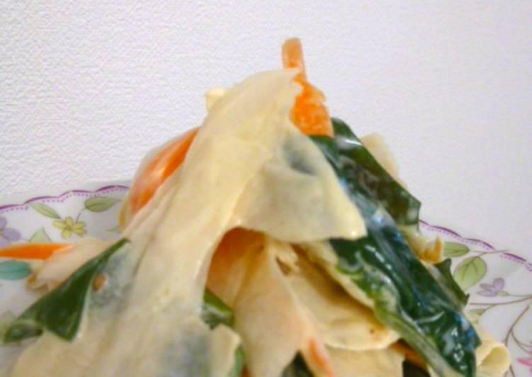 Resep Salad Lobak Mayonese