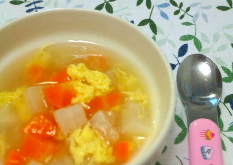Resep Sup Lobak Wortel untuk MPASI