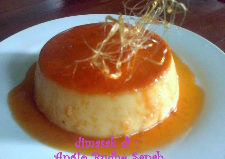 Resep Caramel Custard