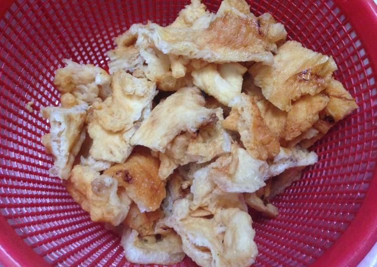 Resep Cara membersihkan Hu Pio (Perut Ikan)