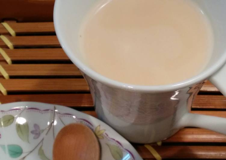 Resep Royal Milk Tea dengan microwave