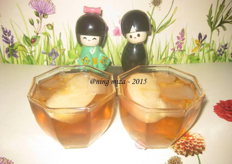 Resep Fresh Apple Tea