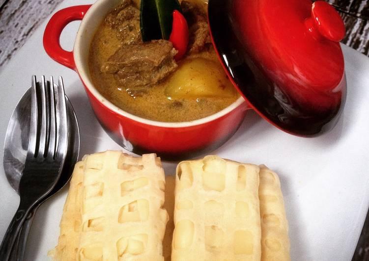 Resep Gule Sapi & Roti Jala
