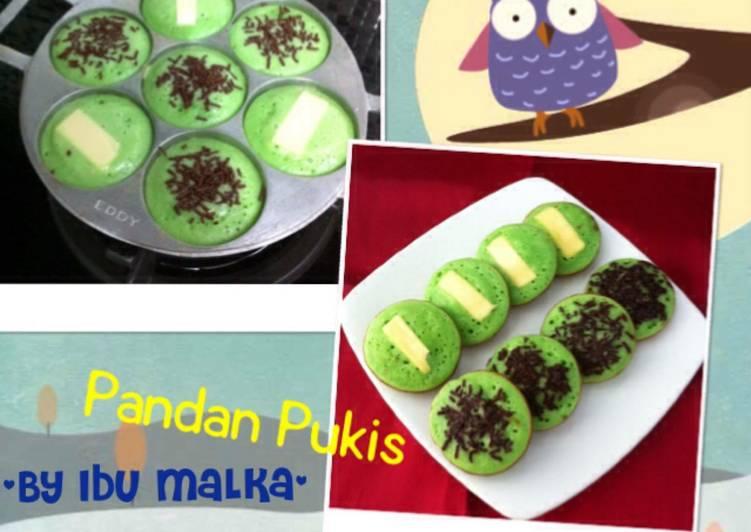 Resep Kue Pukis Pandan