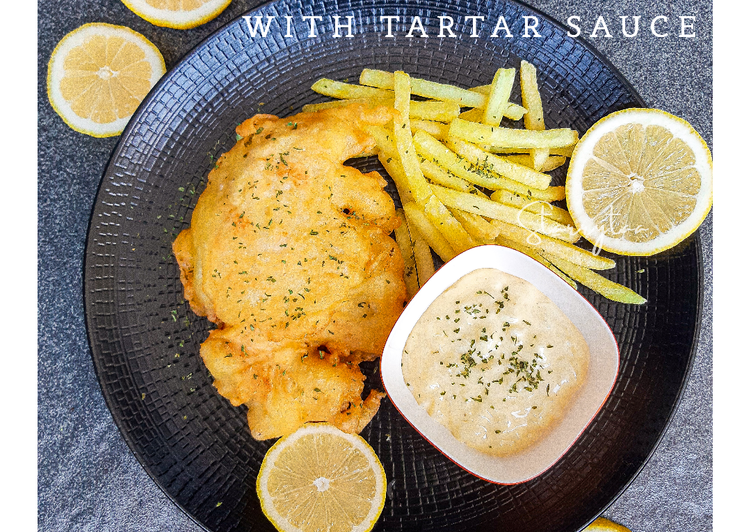 Resep Chicken and Chips with Tartar Sauce