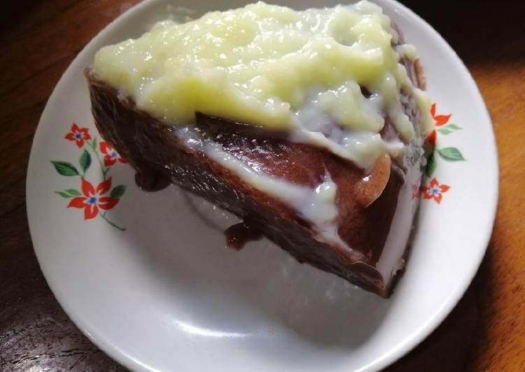 Resep Puding coklat vla instan