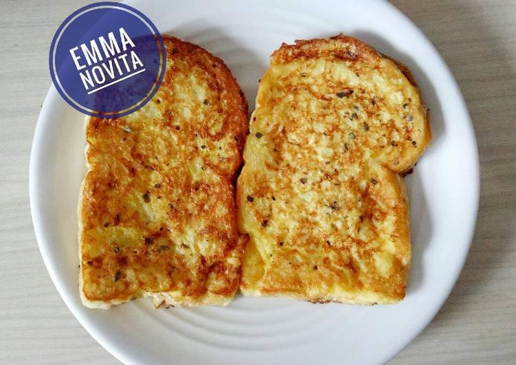 Resep Roti Telur / French Toast