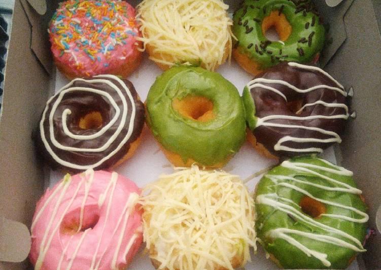 Resep Donuts J-Co ekonomis