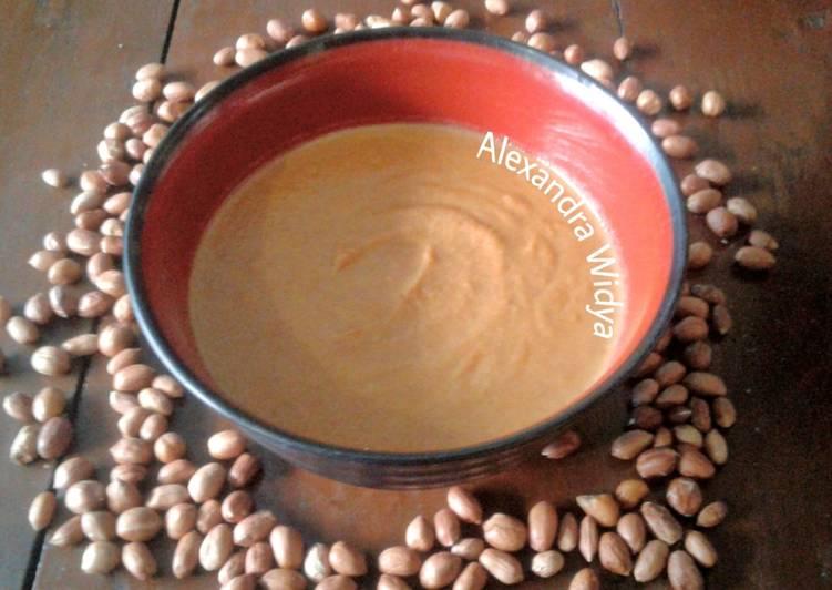 Resep Sambal Kacang Serbaguna