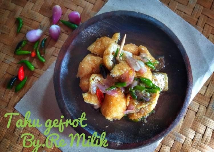 Resep Tahu Gejrot