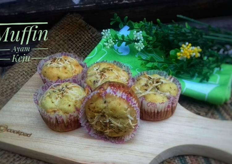 Resep Muffin Ayam wortel