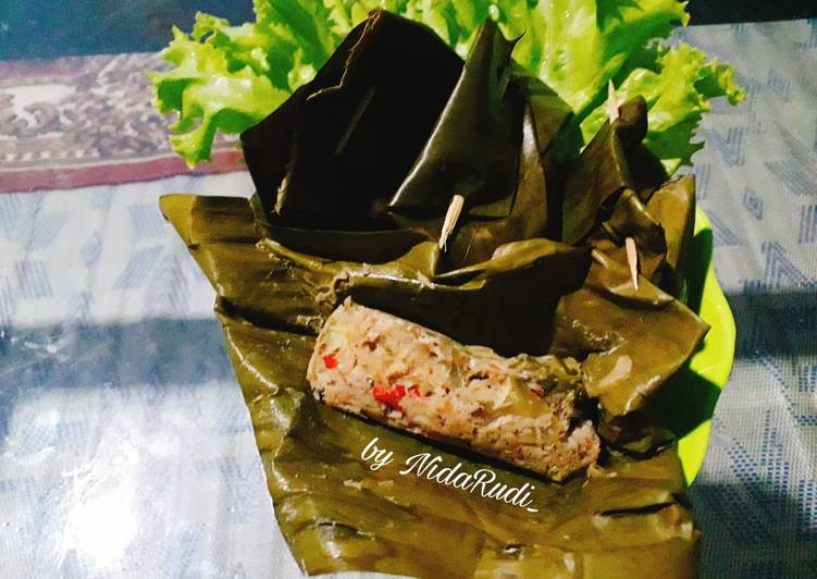 Resep Botok Udang Vape /Papay