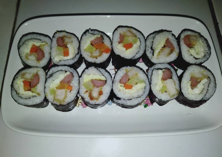 Resep 1Sushi Simple by Uliz Kirei