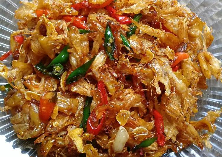 Resep Tumis manday/kulit cempedak by Sii Trias