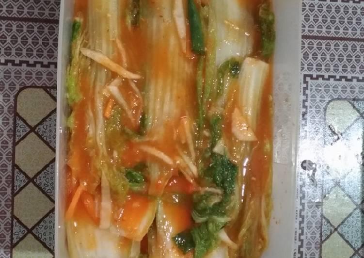 Resep Kimchee