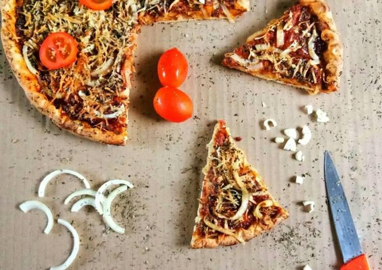 Resep Medium Pizza HomeMade