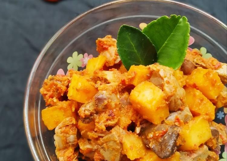 Resep Sambal goreng kentang ati ampela