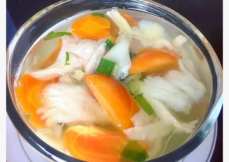 Resep Sup Jamur Tiram Simpel #Matsu