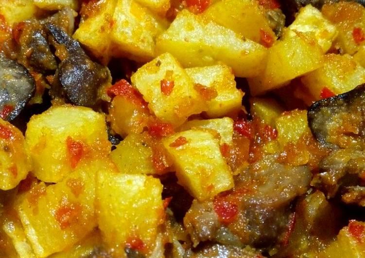 Resep Sambal goreng kentang ati
