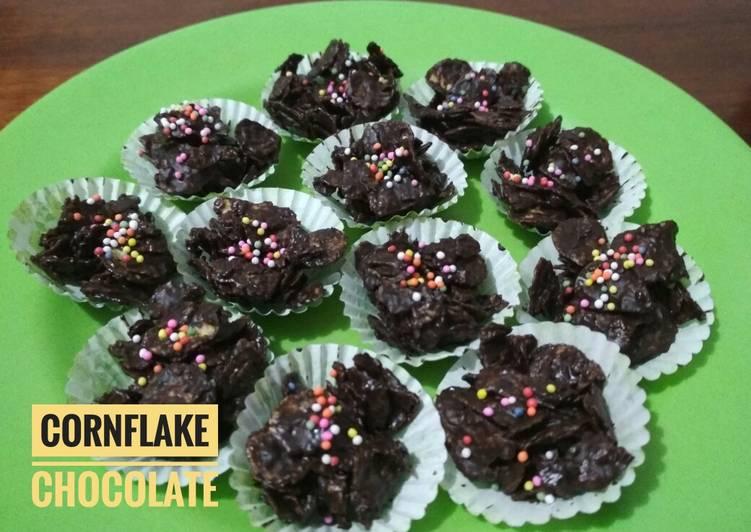 Resep Cornflake Chocolate