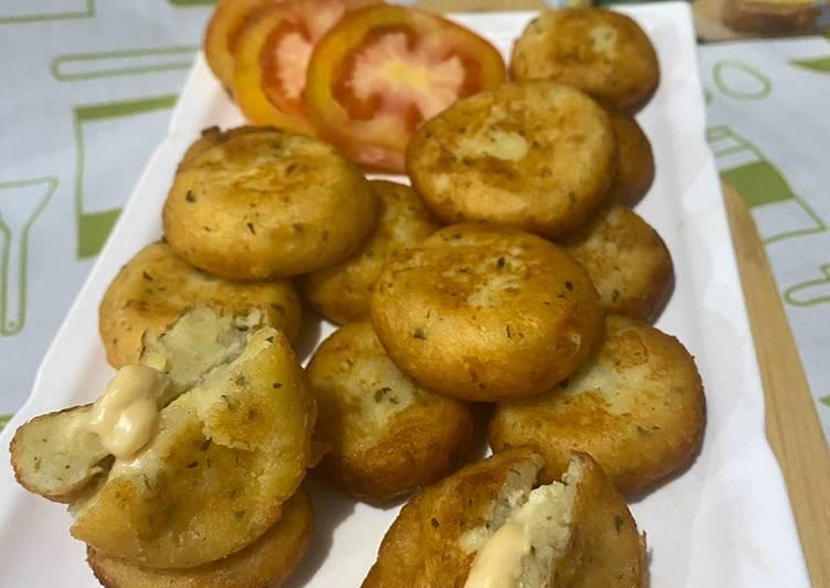 Resep Perkedel kentang keju