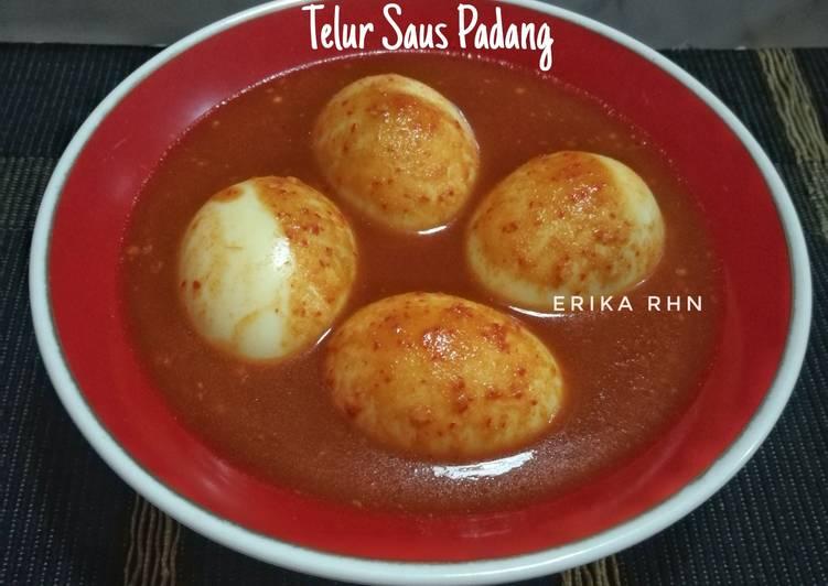 Resep Telur Saus Padang