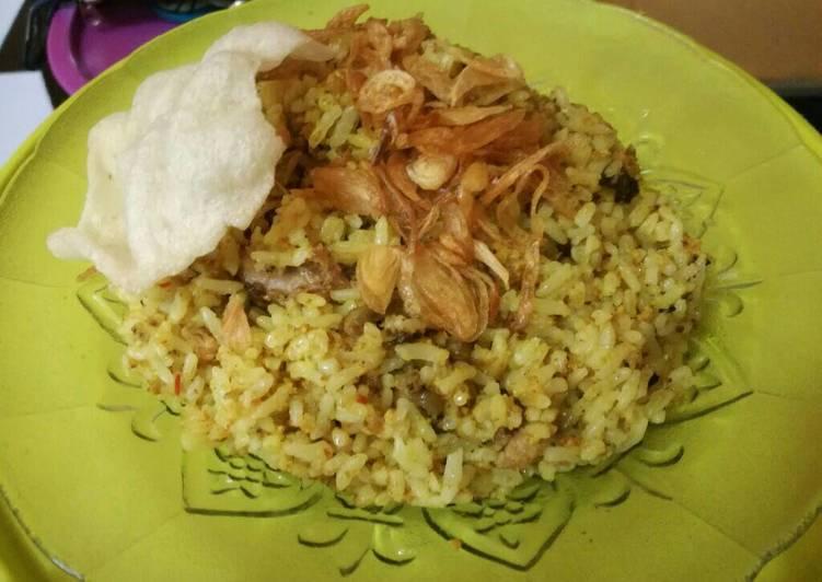 Resep Nasi Goreng Telur Ikan