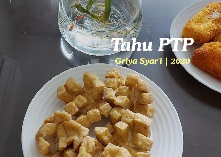 Resep Tahu Goreng PTP (Potong Tanpa Putus)