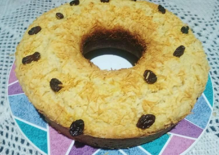 Resep Bluder Cake 1 Telur (Bolu Roti)