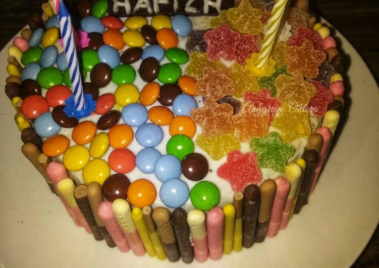 Resep Birthday Cake Simple