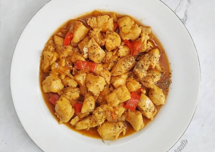 Resep Ayam Fillet Saus Barbeque