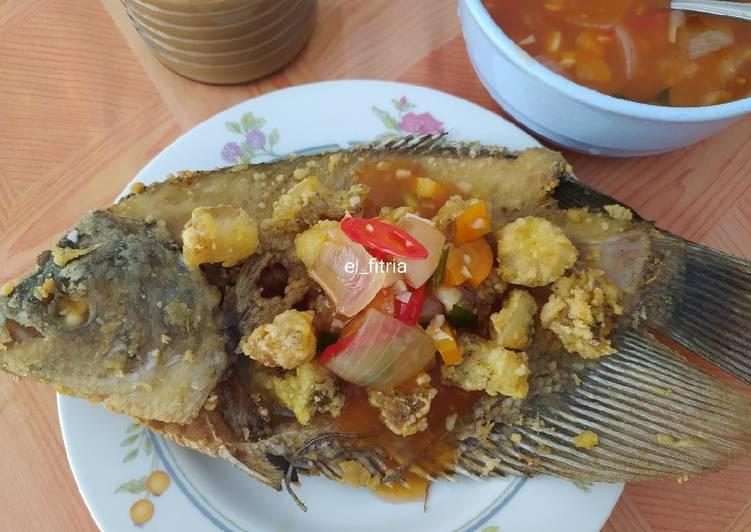 Resep Ikan Gurame Asem Manis