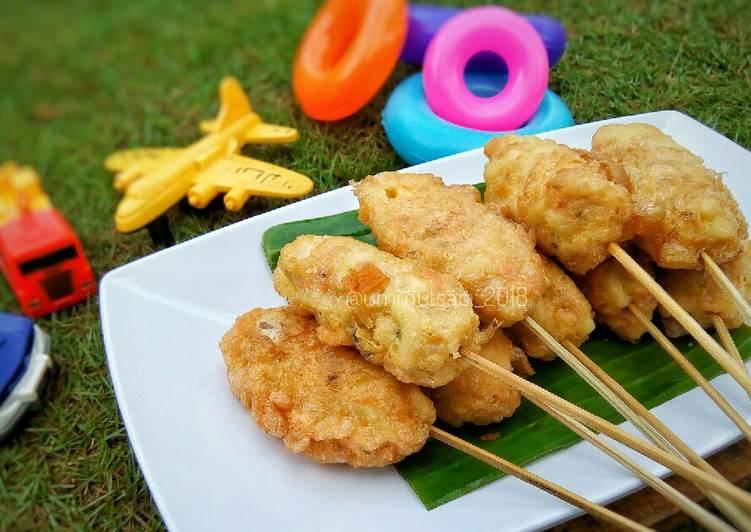 Resep Sempol Makaroni Tuna (mpasi for baby 8m+)