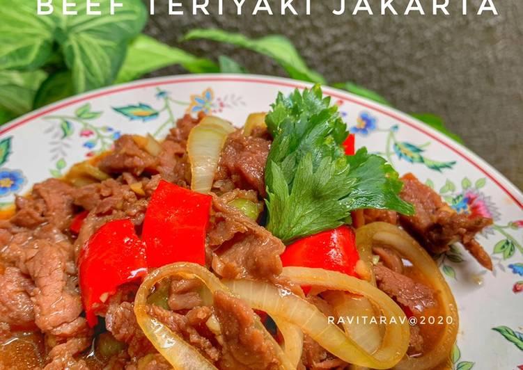Resep Beef Teriyaki Jakarta #dirumahAja