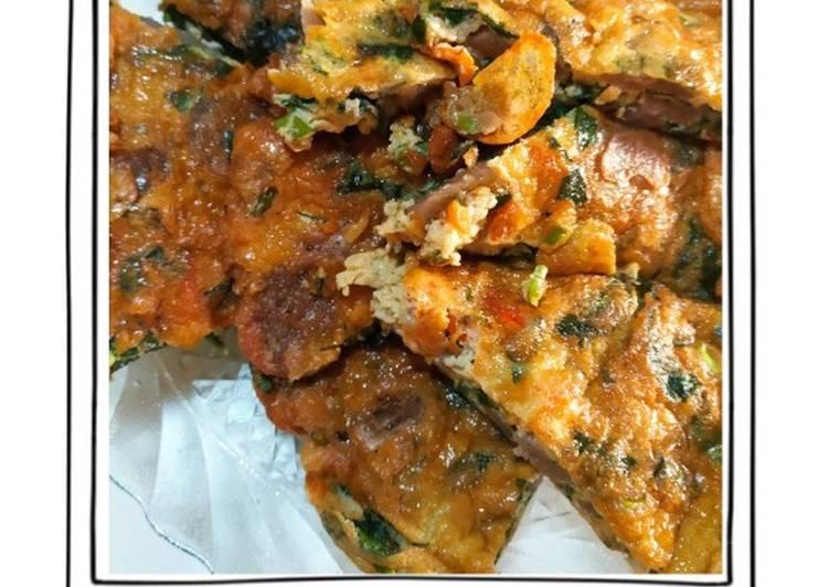 Resep Telur dadar Kangkung
