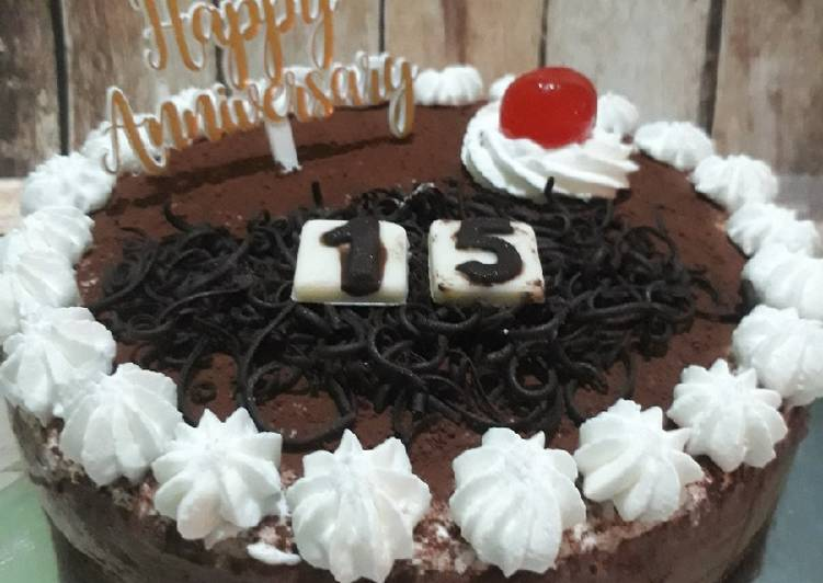 Resep Unbaked ChocoCheese Cake