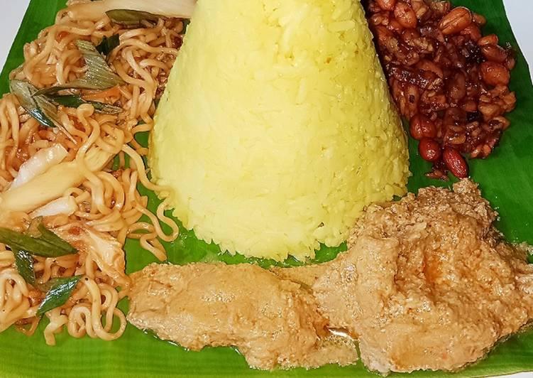 Resep Tumpeng Mini Nasi Kuning