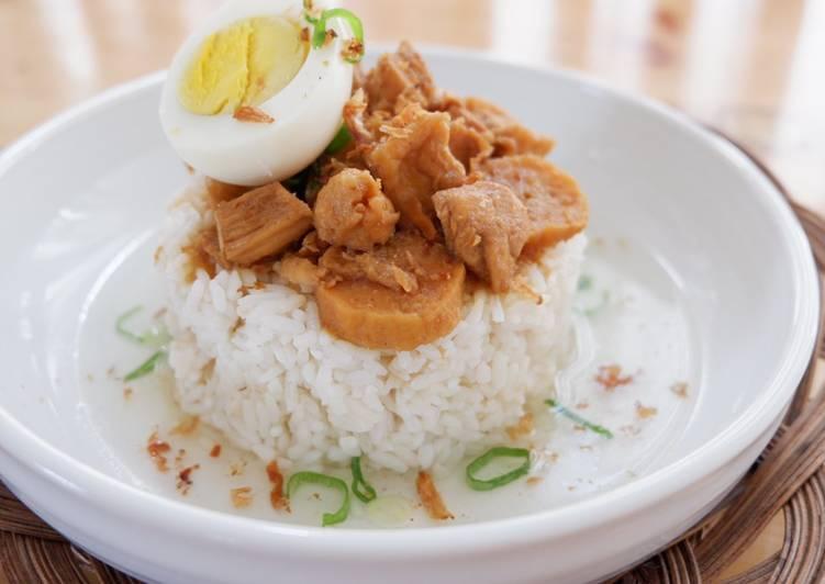 Resep Nasi Bakmoy Ayam Kekian Udang