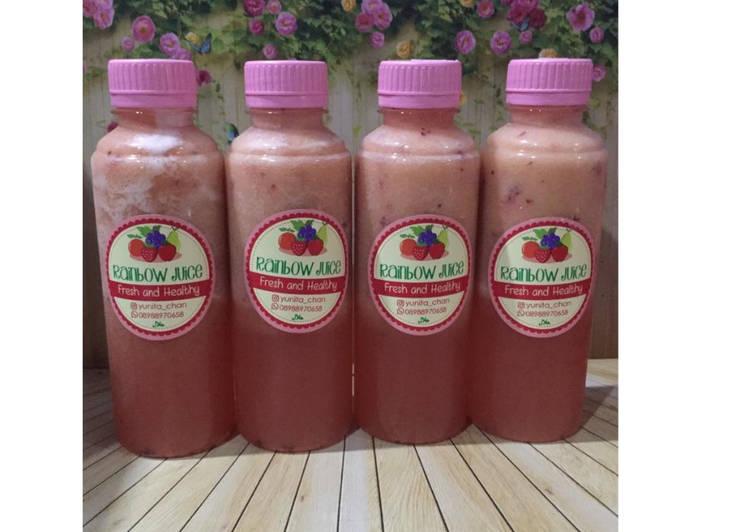 Resep Diet Juice Papaya Plum Pineapple Apple