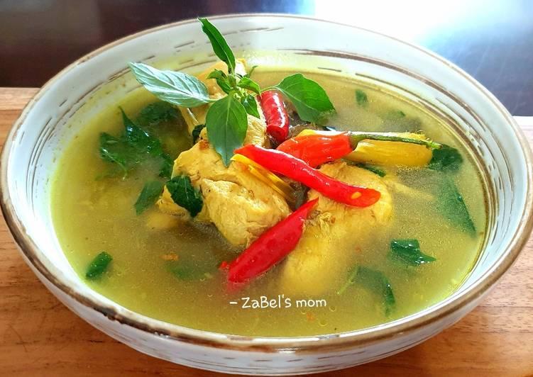 Resep Kuah Ayam Asam Pedas
