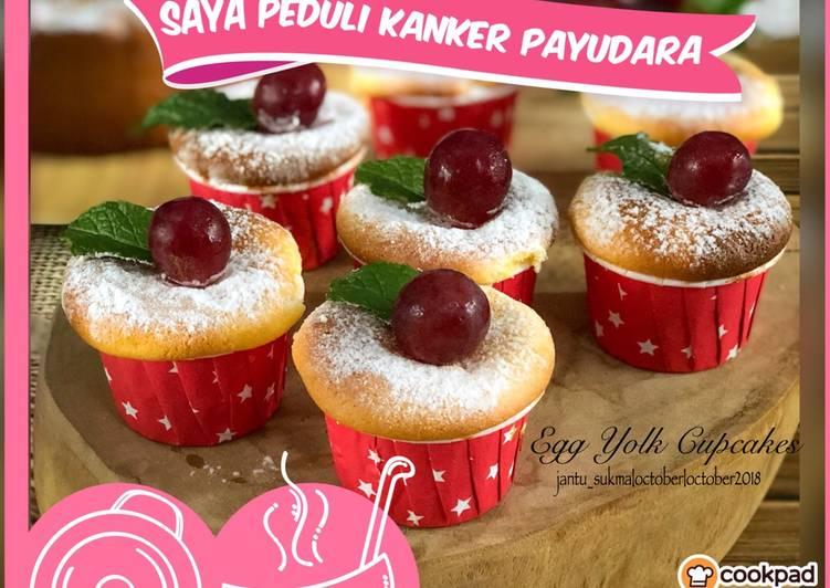 Resep Egg Yolk Cupcakes