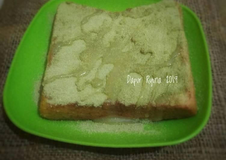 Resep French Toast Greentea