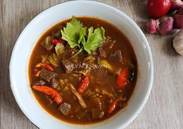 Resep Tongseng sapi week17