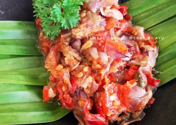 Resep Sambal Bawang Merah ikan klotok
