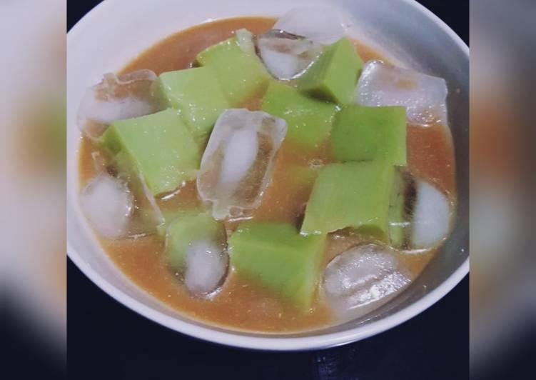 Resep Es bongko (pontianak)