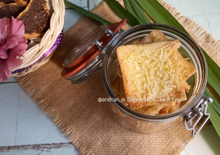 Resep Bagelen Roti Tawar Keju