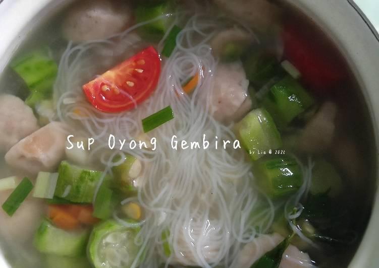 Resep Sup Oyong Gembira