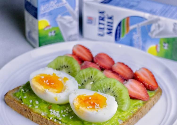 Resep #Roti Gandum Telur Omega